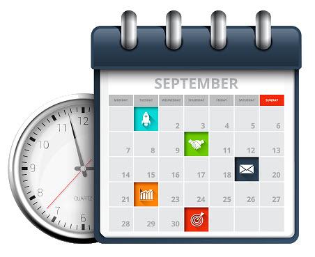 Symbool dag en tijd